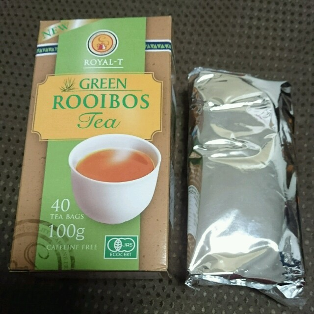 コストコ(コストコ)のコストコ グリーンルイボスティー20袋 食品/飲料/酒の飲料(茶)の商品写真