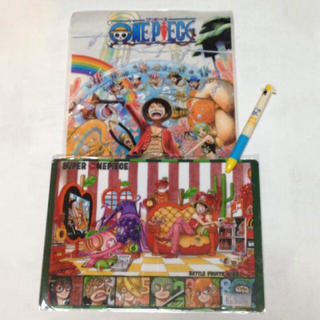 ONE PIECE ワンピースグッズ 文房具セット(クリアファイル)
