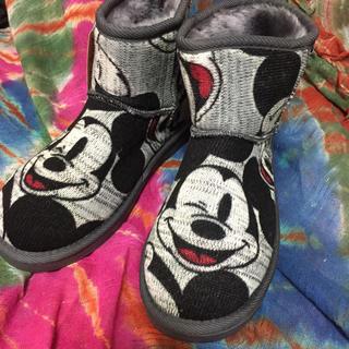 ディズニー(Disney)のミッキー ♡ ブーツ (ブーツ)
