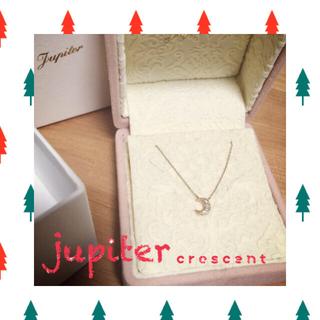 ジュピターゴールドレーベル(jupiter GOLD LABEL)のjupiter crescentネックレス🌙(ネックレス)
