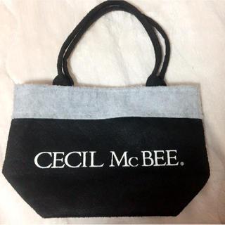 セシルマクビー(CECIL McBEE)のランチトートバック ミニバッグ セシルマクビー(弁当用品)