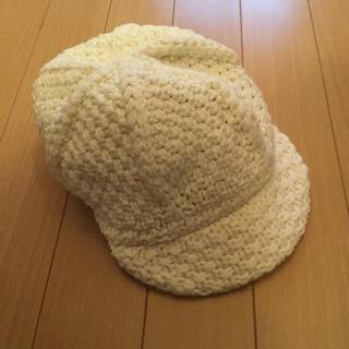 ムジルシリョウヒン(MUJI (無印良品))の☆美品 無印良品 キッズ キャスケット 54cm☆キャップ ハット GAP(帽子)