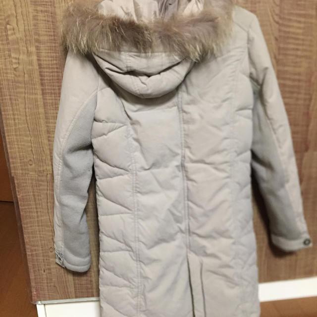 ベージュ  ダウン レディースのジャケット/アウター(ダウンコート)の商品写真