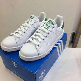 アディダス(adidas)のhime様専用❤️24.5㎝❤️アディダス スタンスミス❤️ホワイト×グリーン(スニーカー)