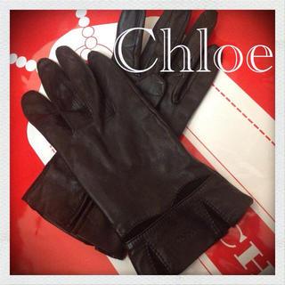 クロエ(Chloe)の正規品【Chloe】グローブ💋(手袋)