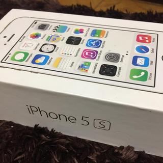 アップル(Apple)の☆iPhone5S 箱 ゴールド☆(スマートフォン本体)