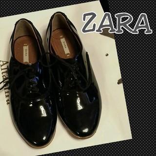 ザラ(ZARA)の再値下げ☆ZARA オックスフォード(ローファー/革靴)