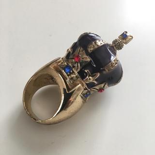 王冠リング イタリア製 サイズ15号(リング(指輪))