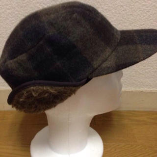 エヌハリウッド(N.HOOLYWOOD)のnicochiro様専用エヌハリウッドチェック柄帽子(キャップ)