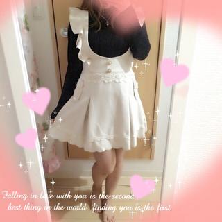 リズリサ(LIZ LISA)のフェミニンジャンスカ♡(ひざ丈スカート)