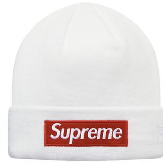 シュプリーム(Supreme)のsupreme  neweraニット帽(ニット帽/ビーニー)