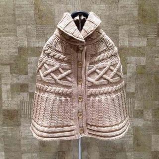 グッチ(Gucci)の未使用 GUCCI ケーブル編み ポンチョ size:6 グッチ キッズ ニット(ニット)