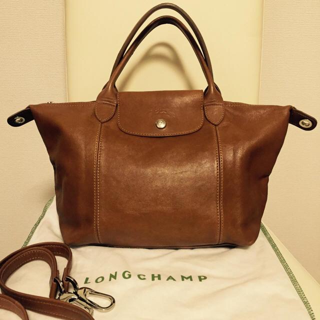9d7992f9564d LONGCHAMP(ロンシャン)のロンシャン ル・プリアージュ キュイール レディースのバッグ(ハンドバッグ