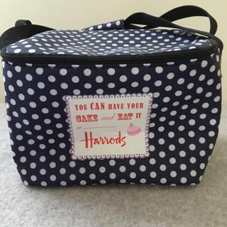 ハロッズ(Harrods)の☆年末お値引き☆【付録】Harrods保冷バッグ(弁当用品)