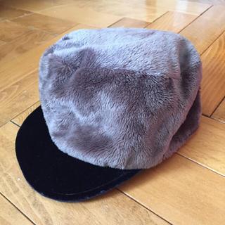 アクアガール(aquagirl)のaquagirl 帽子♪新品値札付き(ハンチング/ベレー帽)