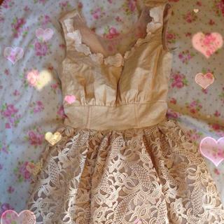リリーブラウン(Lily Brown)の♡lily Brownドレス♡(ミニワンピース)