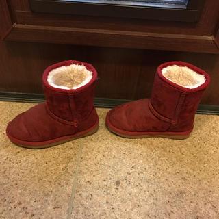 エスペランサ(ESPERANZA)のるるるん♫さん専用 エスペランサ もこもこブーツ 16センチ(ブーツ)