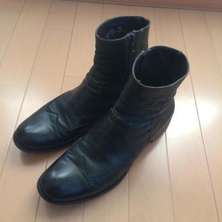 コーズ(CAUSE)のCAUSE サイドジップブーツ(ブーツ)