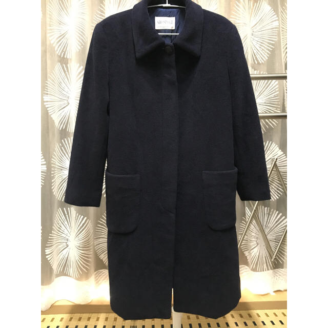 GIO SPORT(ジオスポーツ)の美品☆ウール100☆ロングコート☆GIO SPORT レディースのジャケット/アウター(ロングコート)の商品写真