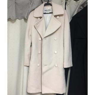 ミュベールワーク(MUVEIL WORK)のホワイトコート(ロングコート)