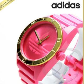 アディダス(adidas)のadidas♡ピンク♪♪新品♡(腕時計)