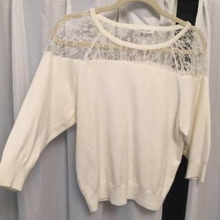 ローリーズファーム(LOWRYS FARM)の透け セーター (ニット/セーター)