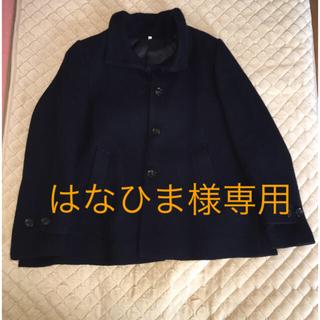 ムジルシリョウヒン(MUJI (無印良品))の無印良品コート(ピーコート)