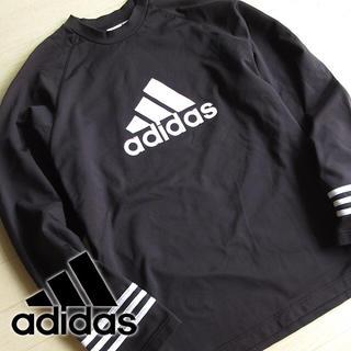 アディダス(adidas)のアディダス Lサイズ climaPROOF 長袖カットソー ブラック(Tシャツ/カットソー(七分/長袖))