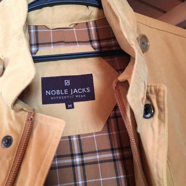 Noble(ノーブル)のNOBLE JACKS コート マスタードカラー メンズのジャケット/アウター(ステンカラーコート)の商品写真