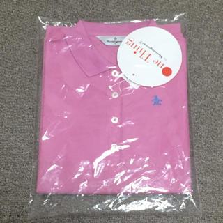 マンシングウェア(Munsingwear)の値下げ!【新品・未使用】Munsingwear ピンクポロシャツ(ポロシャツ)