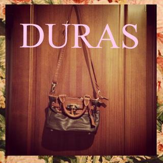 デュラス(DURAS)のduras♡ミニ南京錠付き2wayバッグ(ショルダーバッグ)