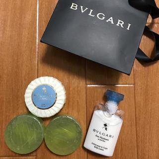 ブルガリ(BVLGARI)のブルガリ ソープ ボディーミルク まとめ売り BVLGARI(ボディソープ / 石鹸)