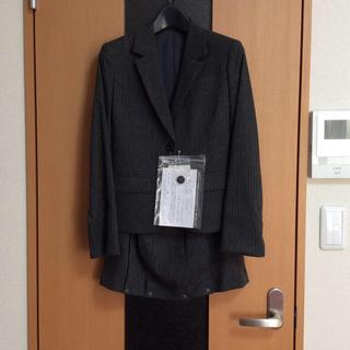 ニッセン(ニッセン)の新品 小さいサイズ3号 ウール混 プリーツスカートスーツ(スーツ)