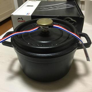 ストウブ(STAUB)のストウブ Staub ピコ ココット ラウンド 16cm(鍋/フライパン)