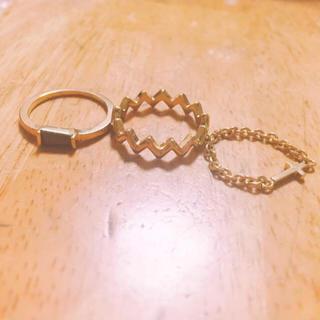 スナイデル(snidel)のリング アクセサリー(リング(指輪))
