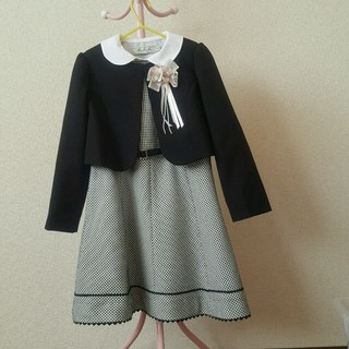 ムージョンジョン(mou jon jon)のセレモニーワンピース 120cm 最終値下げ(ドレス/フォーマル)