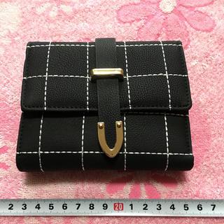 新品•未使用品 男女兼用 三つ折り財布(折り財布)