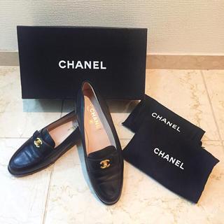 シャネル(CHANEL)の☆stella様専用 CHANEL Coco loafer (ローファー/革靴)