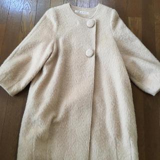 ドットアンドストライプスチャイルドウーマン(Dot&Stripes CHILDWOMAN)の♡ノーカラーコート♡(ノーカラージャケット)