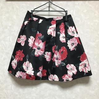 デイシー(deicy)のdeicy オリジナルフラワー柄スカート(ひざ丈スカート)