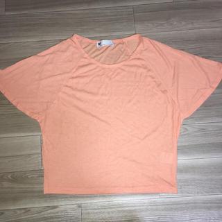 スライ(SLY)のSLY✧フレアスリーブT&ペイズリースカーフ(Tシャツ(半袖/袖なし))
