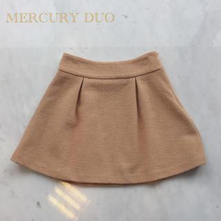 マーキュリーデュオ(MERCURYDUO)の美品♡マーキュリーデュオ ウールミニスカート(ミニスカート)