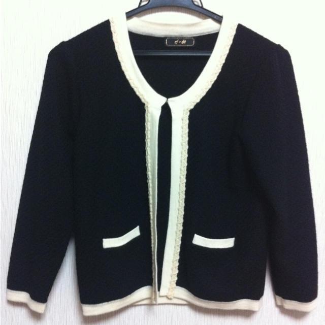 ef-de(エフデ)のエフデ ニット セットアップ レディースのジャケット/アウター(ノーカラージャケット)の商品写真