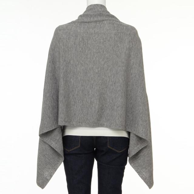 MUJI (無印良品)(ムジルシリョウヒン)の無印良品  ケープ ストール レディースのファッション小物(ストール/パシュミナ)の商品写真