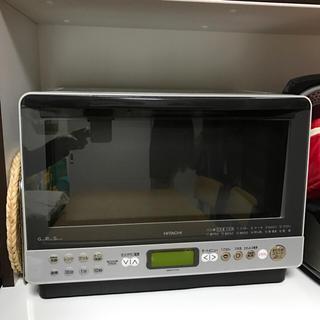 ヒタチ(日立)のまだ様専用  オーブンレンジ  MRO-FX3  ライトシルバー(電子レンジ)