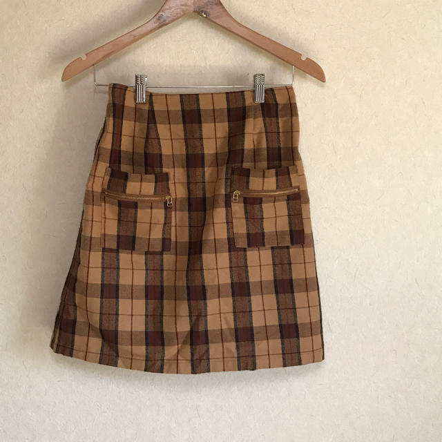 RayCassin(レイカズン)のチェックスカート レディースのスカート(ひざ丈スカート)の商品写真