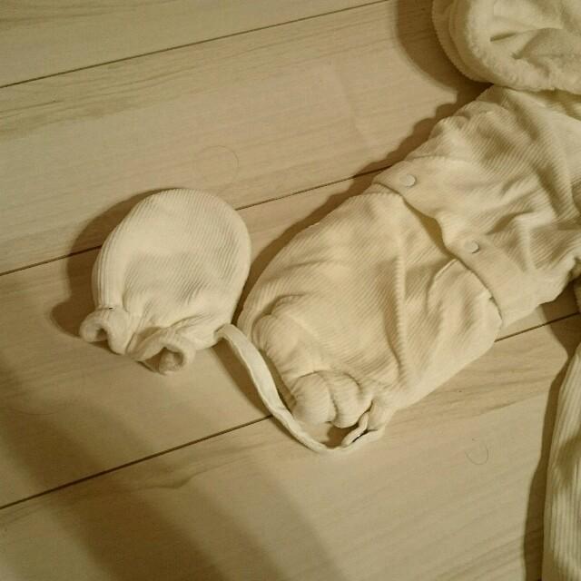 COMME CA ISM(コムサイズム)のお値下げ【美品】防寒着♡COMME CA ISM キッズ/ベビー/マタニティのベビー服(~85cm)(カバーオール)の商品写真