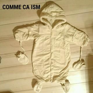 コムサイズム(COMME CA ISM)のお値下げ【美品】防寒着♡COMME CA ISM(カバーオール)