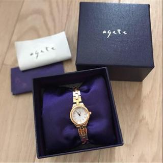 アガット(agete)の値下げ✳︎アガット ピンクゴールド時計(腕時計)