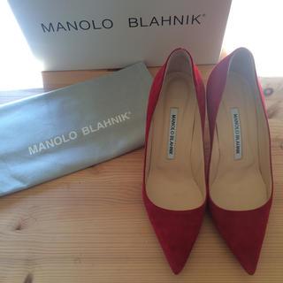 マノロブラニク(MANOLO BLAHNIK)の25日までsale  マノロブラニク パンプス(ハイヒール/パンプス)